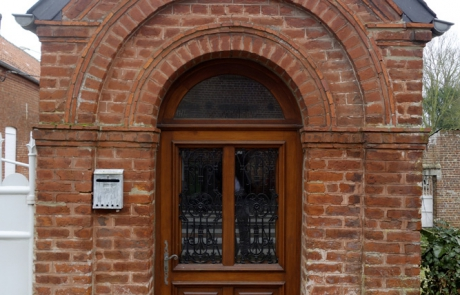 Chapelle. Chaussée Brunehaut