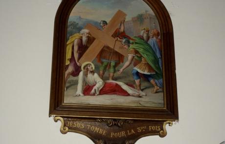 """Tableau """"Jésus tombe pour la 3ème fois"""""""