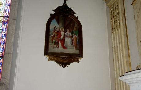 """Tableau """"Jésus est condamné à mort"""""""