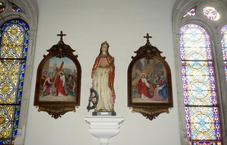 Statue Sainte Catherine
