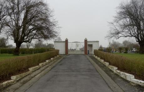 Entrée cimetière
