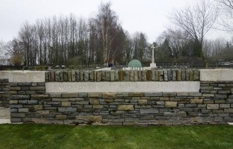 Mur - cimetière des anglais