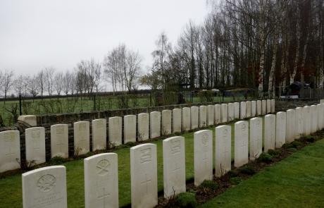 Tombes - cimetière des anglais